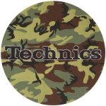 Slipmat Factory TECHNICS Army Twin