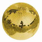 Eurolite Arany Színű Tükörgömb 20cm
