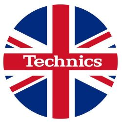 Slipmat Factory TECHNICS logo UK