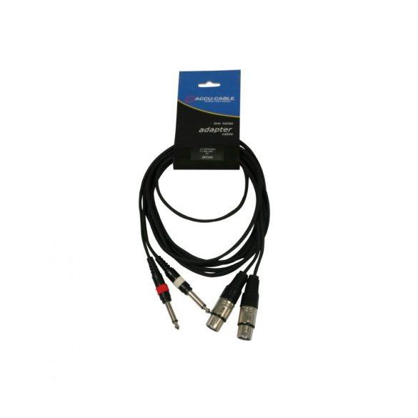 Accu-Cable 1611000039 XLR-Jack 1,5m