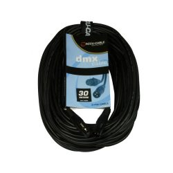 Accu-Cable 1621000011 DMX jelkábel 3 pólusú 30m