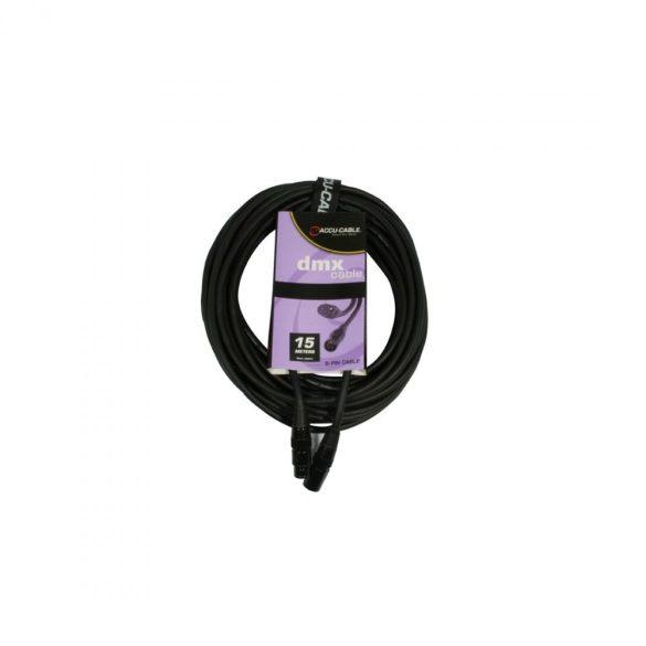 Accu-Cable 1621000016 DMX jelkábel 5 pólusú 15m