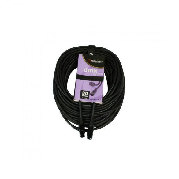 Accu-Cable 1621000017 DMX jelkábel 5 pólusú 30m