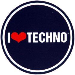 Slipmat Factory I Love Techno