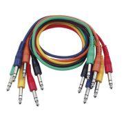 DAP-Audio Színes Sztereó Patch Kábel 30cm
