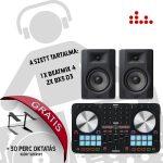 Reloop Beatmix 4 MK2 és BX5 D3 DJ szett