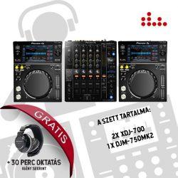 Pioneer XDJ-700 és DJM-750MK2 DJ szett
