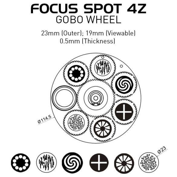 Ameircan DJ Focus Spot 4Z Pearl