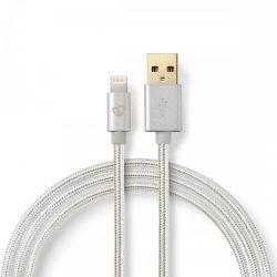 Nedis Töltőkábel | Aranybevonatú | USB - Lightning Kábel