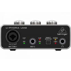Behringer UM2 U-Phoria 2x2 USB Hangkártya