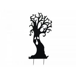 Europalms Silhouette Metal Ghost Tree, 150cm