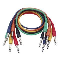 DAP-Audio Színes Sztereó Patch Kábel 90cm