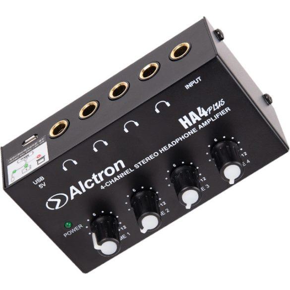 Alctron HA4 PLUS fejhallgató erősítő