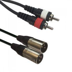 Accu-Cable 1611000029 XLR-RCA 1,5m