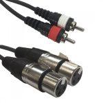 Accu-Cable 1611000030 XLR-RCA 1,5m