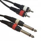 Accu-Cable 1611000049 - 2x RCA - 2x Jack m. 1,5m