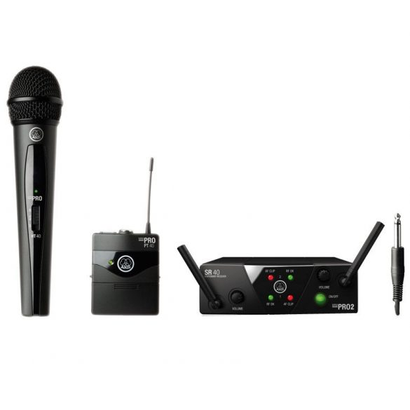 AKG WMS 40 Mini2 MIX Instrumental/Vocal Set Dual
