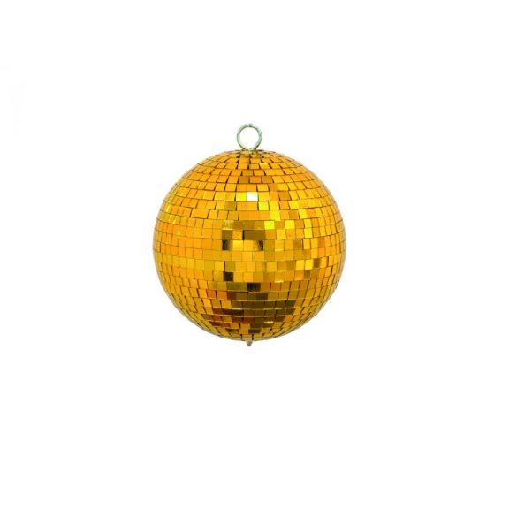 Eurolite Arany Színű Tükörgömb 15cm
