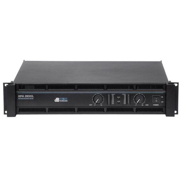 dB Technologies HPA 3100L (2 x 1200 Watt)