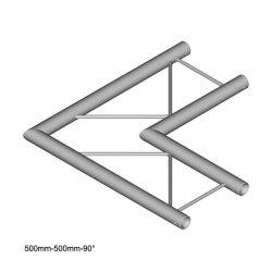 Duratruss DT 22 C21H-L90 90 degree corner 50cm