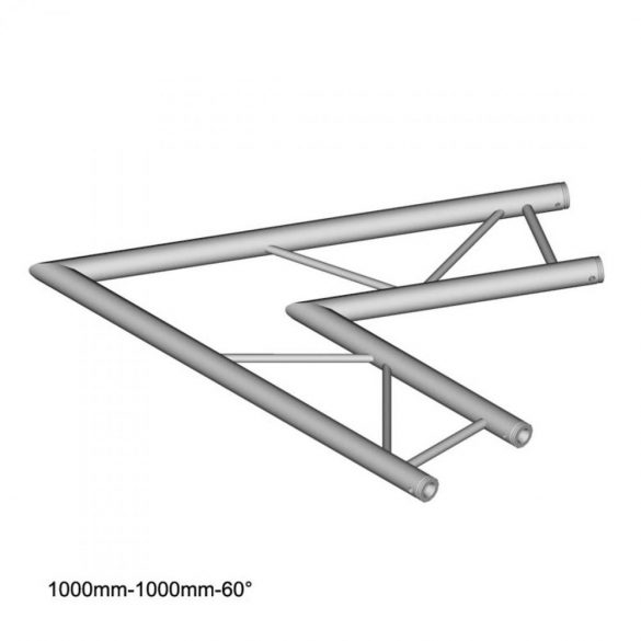 Duratruss DT 32 C20H-L60 60 degree Corner 100cm