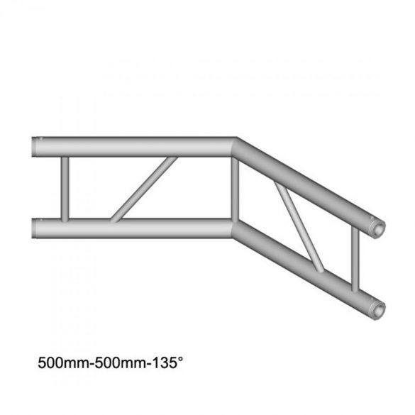 Duratruss DT 32 C23V-L135 135 degree Corner 50cm
