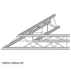 Duratruss DT 23 C19-L45  45 degree corner 100cm