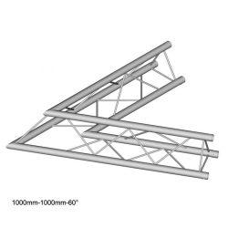 Duratruss DT 23 C20-L60  60 degree corner 100cm