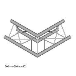 Duratruss DT 23 C21-L90  90 degree corner 50cm