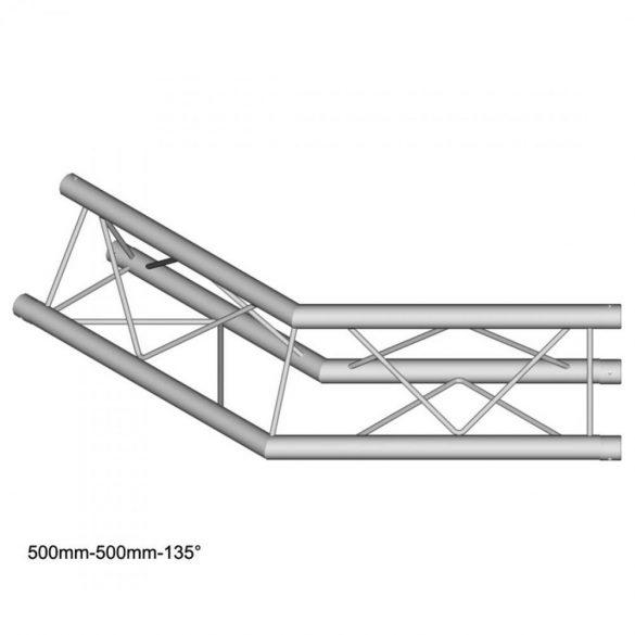 Duratruss DT 23 C23-L135 135 degree corner 50cm