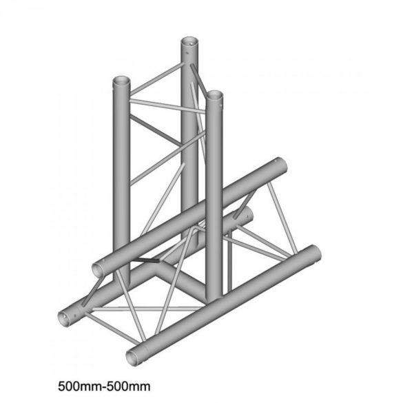 Duratruss DT 23 T36-H     3way horizontal T piece