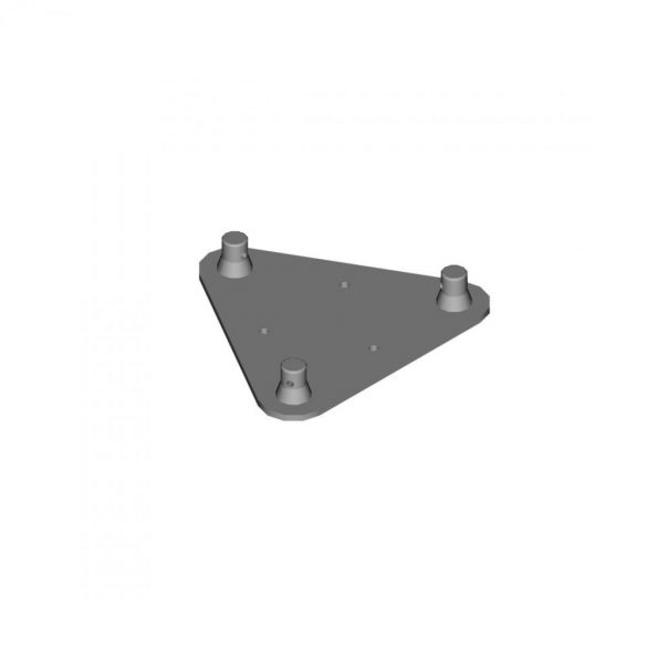 Duratruss DT 23 WP   Wall plate