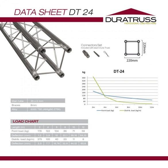 Duratruss DT 24-350 straight
