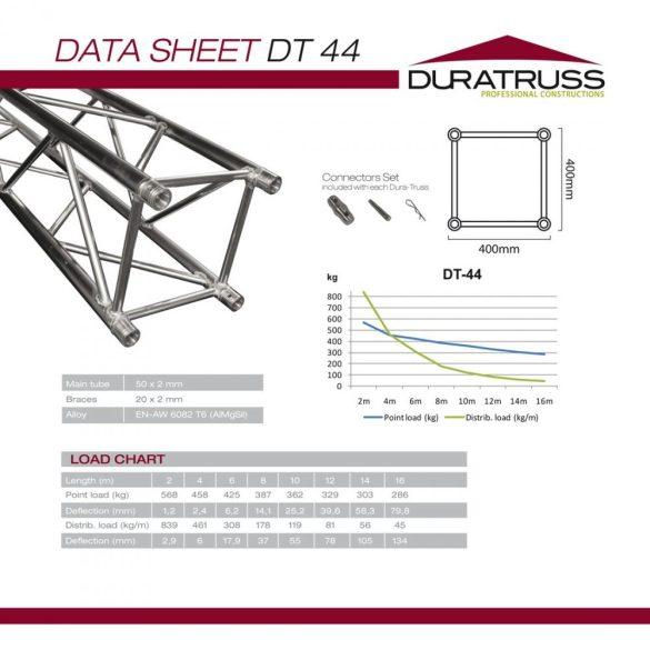 Duratruss DT 44-450 straight
