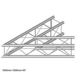 Duratruss DT 24 C19-L45   45 degree corner 100cm