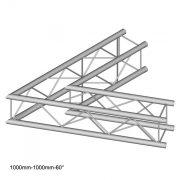 Duratruss DT 24 C20-L60   60 degree corner 100cm