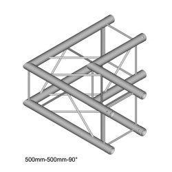 Duratruss DT 24 C21-L90   90 degree corner 50cm