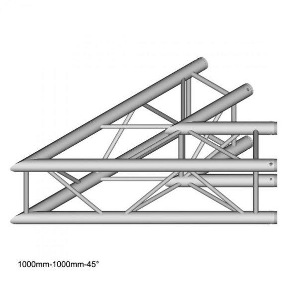 Duratruss DT 34 C19-L45  45 degree Corner 100cm
