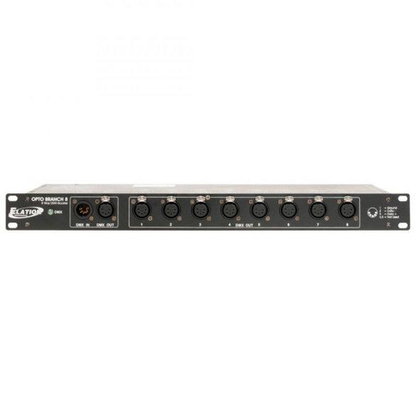 Elation Opto Branch 8/3 - DMX Splitter