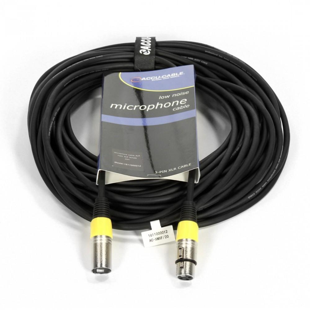 Image of Accu-Cable 1611000012 XLR-XLR 20m